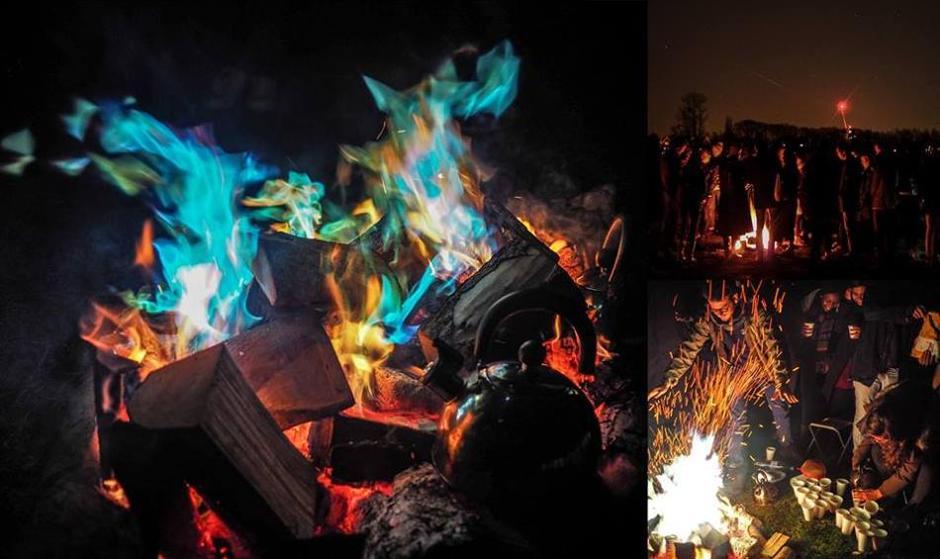 پیشواز چهارشنبه سوری در آکسفورد