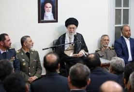آیتالله خامنهای: انگلیس خبیث دزدی دریایی می کند و کشتی ما را می دزدد/ ایران خباثتهای انگلیس را بیجواب نمیگذارد