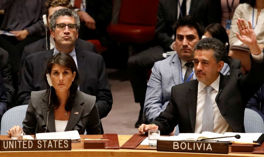 وداع تلخ نیکی هیلی با سازمان ملل: مجمع عمومی پیش نویس قطعنامه ضدفلسطینی پیشنهادی آمریکا را رد کرد