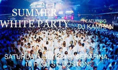 Summer Persian White Party