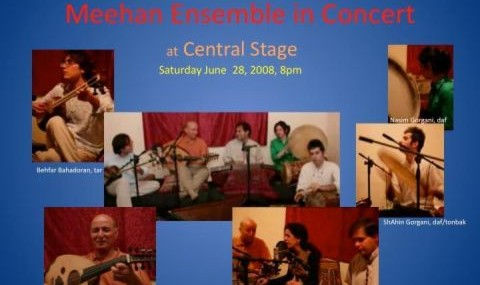 Meehan Iranian Classical Ensemble: East Bay Performance