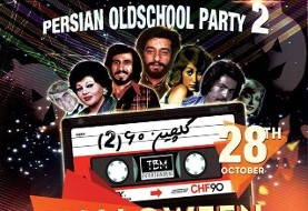 Persian Halloween Old School Party In Toronto