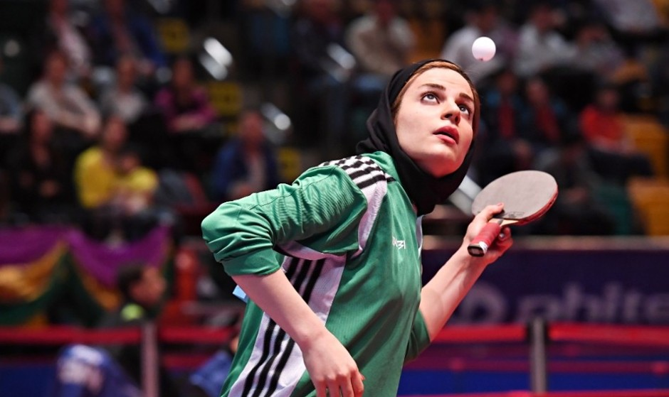 Iran defeats Spain and US in World Table Tennis Championships (Video)