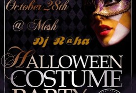 Persian Halloween Costume Party with Dj Raha