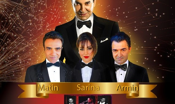 Faramarz Assef - New Year's Eve with Matin, Sarina, Armin and LA Gypsies