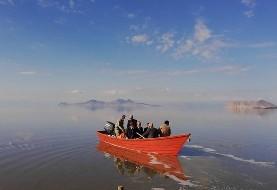 تراز دریاچه ارومیه ۷سانتی متر بیشتر از مدت مشابه سال قبل است: آغاز رهاسازی آب از سدهای آذربایجان غربی