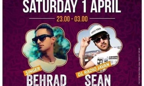 Dj Sean Vasei and Behrad: Pure Persian Party, Young Generation