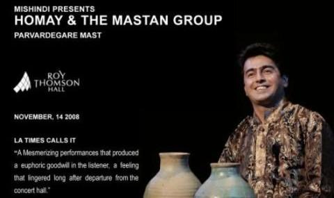 Parvardegare Mast: Homay & The Mastan Group