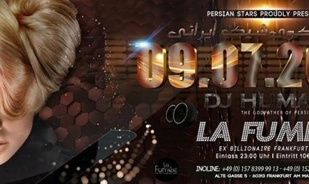 DJ Human: Persian Stars Summer Dance Party