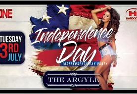 Independence Day Party at Argyle Hollywood