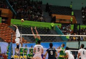 فینال قهرمانیوالیبال  آسیا نتیجه زنده: ایران ۲- استرالیا صفر