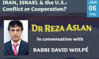 Iran, Israel and the U.S.: Conflict or Cooperation?, Debate with Dr. Reza Aslan