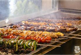 نکته بهداشتی: کباب کردن غذا