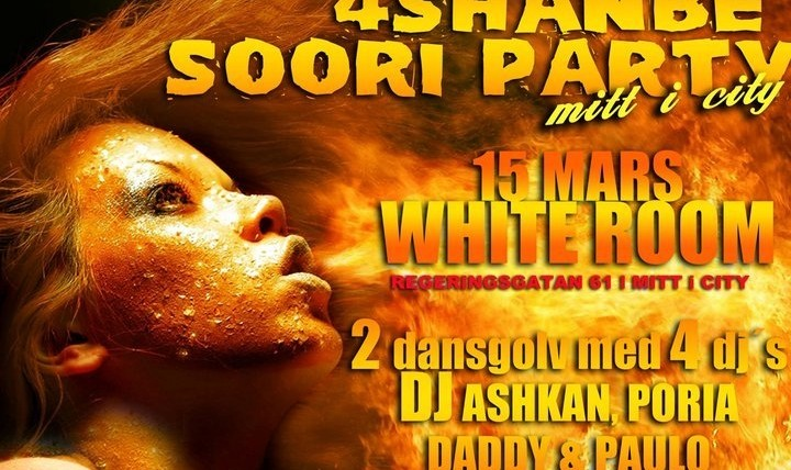 Official 4 Shanbeh Soori After Party