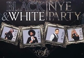 جشن بزرگ شب سال نو: سفیدو سیاه. همراه با دیجی ارس و شامپاین رایگان