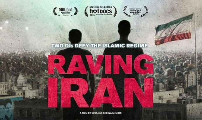 Raving Iran with Blade and Beard in Hamburg