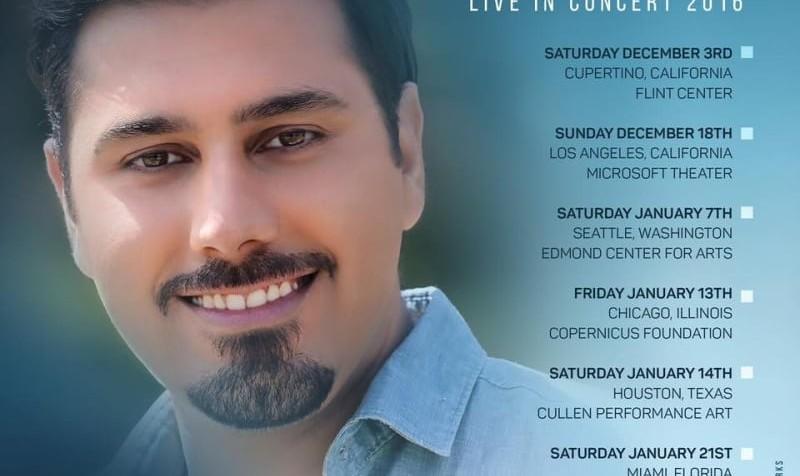 Ehsan Khajeh Amiri Concert, Live in Miami