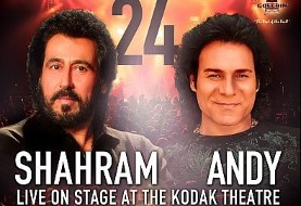 Andy and Shahram Shabpareh concert