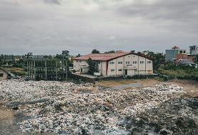 تصاویر دریای زباله در ساحل پولدارنشین خزر