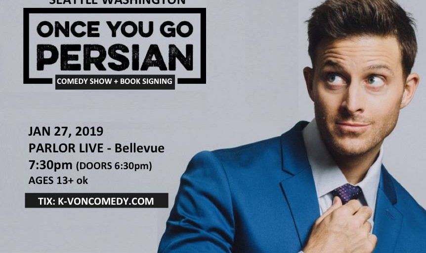 SPECIAL VIP Tickets for K-von Comedy Show + New Book Signing