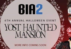 Bia۲ ۶th Annual Halloween Party at Yost Haunted Mansion in Orange County