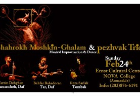 Shahrokh Moshkin-Ghalam and Pezhvak Trio