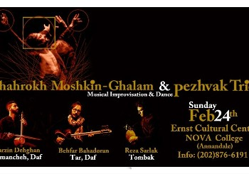 Shahrokh Moshkin-Ghalam and Pezhvak Trio