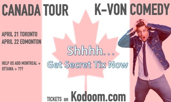 K-von in Edmonton: The Most Famous Half-Persian Comedian