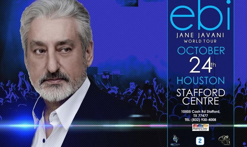 Ebi, Live in Houston with Jane Javani
