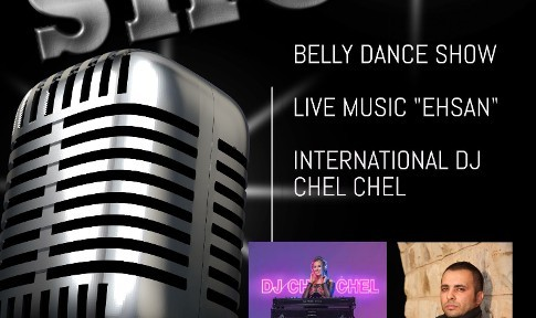 Winter Persian Party with Live music, Belly Dance Show