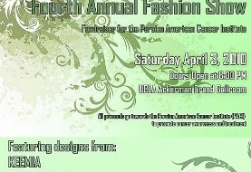 Fashion Show Fundraiser for the Persian American Cancer Institute PACI
