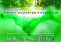 Drums will Sing for Iran: In Solidarity with Iranians