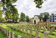 تصاویر محل دفن سربازان انگلیسی و متفقین در قلب تهران