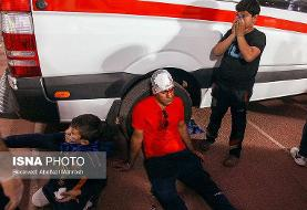 In Pictures: Medical care during Tehran Derby