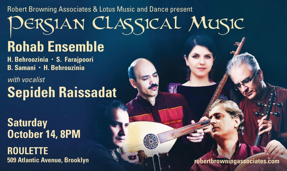 Rohab Ensemble with Vocalist Sepideh Raissadat