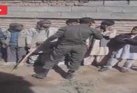 نیروی انتظامی کلیپ ضربوشتم اتباع افغانستانی از سوی یک سرباز عقده ای را تکذیب کرد