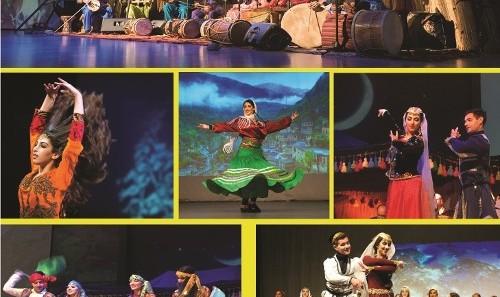 کنسرت گروه کوبان با صدای نسیبه و مهدیه عبداللهی همراه رقص زیبای گروه ملیکا فتحی