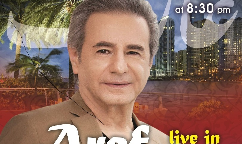 Aref Live in Concert in Miami