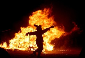 Chaharshanbeh Soori (Persian Festival of Fire) ۲۰۱۱