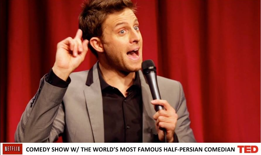 K-von: The Most Famous Half-Persian American Comedian - FREE TICKET and BOOK OFFER