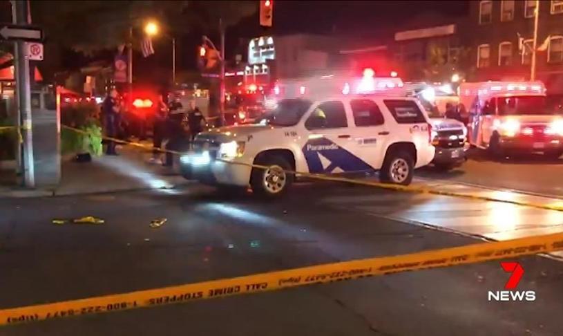 تیراندازی در شهر تورنتوی کانادا یک کشته و ۱۳ زخمی برجای گذاشت