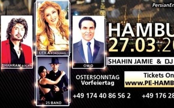 The biggest NOWRUZ Concert in HAMBURG - Hamburg, Germany