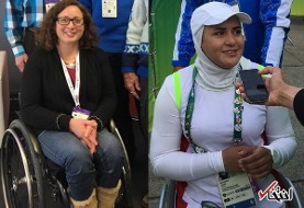Two Iranian Paralympics athletes nominated for International Women's Day award