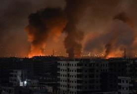باز به راحتی اهداف نظامی سوریه را هدف قرار داد