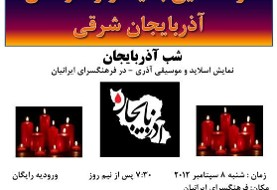 Gathering in Memory of Earthquake Victims in East Azarbaijan