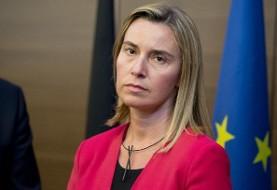 موگرینی: طرح مکانیزم دور زدن تحریم های آمریکا علیه ایران به زودی اجرایی خواهد شد