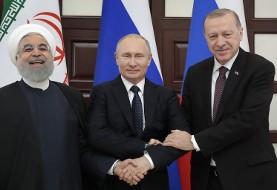 استقبال پوتین از روحانی و اردوغان در نشست سوچی  درباره سوریه همزمان با کنفرانس ورشو