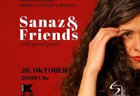 Sanaz & Friends: Türkischen und Aserbaidschanischen Volksliedern