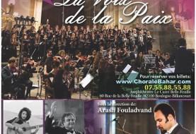 La voix de la Paix: Découvrir la culture Perse, Musique Orchestrale Iranienne avec Arash Fouladvand
