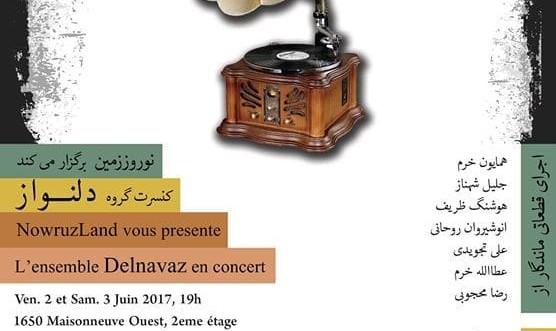 کنسرت گروه دلنواز در نوروززمین